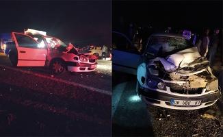 Şanlıurfa'da otomobil biçerdövere çarptı: 1 ölü, 2 yaralı