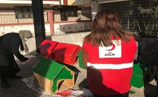 Şanlıurfa Toplum Merkezinden belediyeye kedi evi desteği