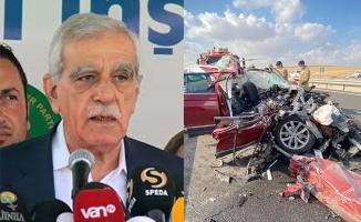 Urfa'daki Kazadan Ahmet Türk'e kötü haber