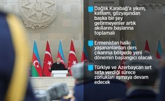 Erdoğan: Azerbaycan destan yazmaya devam edecek