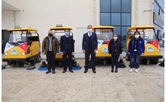 Eyyübiye Belediyesi filosuna 5 yeni araç