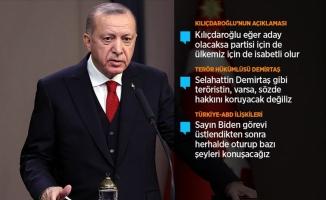 Erdoğan: Partisi için de ülkemiz içinde isabetli olur