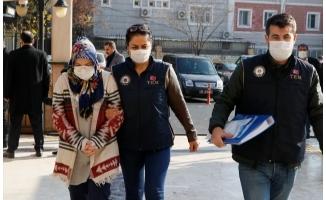 Adliyeye çıkarılan FETÖ firarisi kadın tutuklandı
