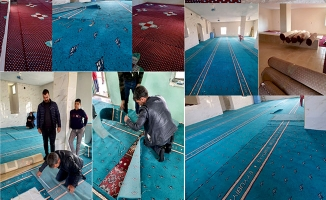 Eyyübiye'de ibadethanelerin ihtiyaçları karşılanıyor