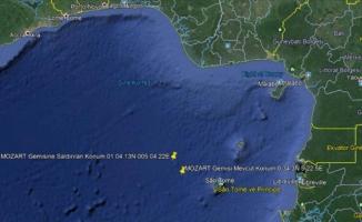 Saldırıya uğrayan Türk gemisi, Gabon'a hareket etti