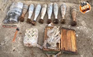Tel Abyad'da kilolarca patlayıcı ele geçirildi