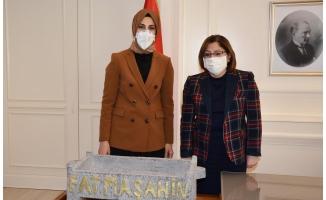 Başkan Çakmak'tan Başkan Şahin'e iade-i ziyaret