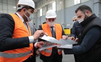 Başkan Beyazgül'den Fabrikalara Ziyaret