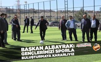 Albayrak: Gençlerimizi sporla buluşturmaya kararlıyız