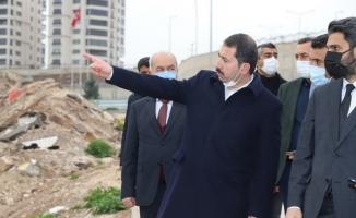 Başkan Baydilli Karşıyaka Mahallesini İnceledi