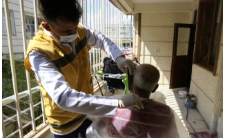 438 ailenin temizliği Haliliye belediyesinden
