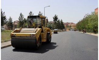 Büyükşehir yolları asfalt ile buluşturuyor