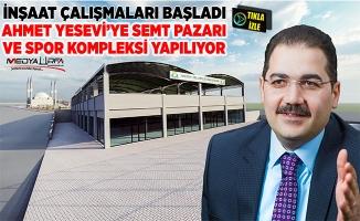 Canpolat: Ahmet Yesevi'ye hayırlı olsun