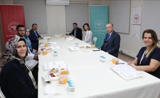 Erdoğan: İnanıyorum ki Peygamberimize komşu olacaklar