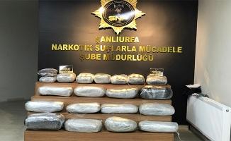Şanlıurfa'da narkotik suçlardan 1068 zanlı tutuklandı