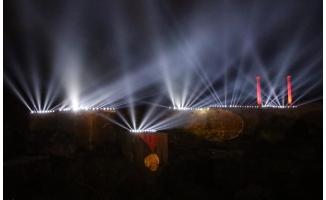 Şanlıurfa kalesinde görsel şölen