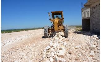 Siverek'te kırsal mahallelerin yol kalitesi artıyor