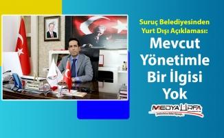 Suruç Belediyesi: Konunun mevcut yönetimle ilgisi yok