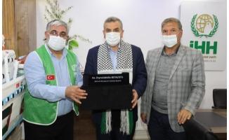 Beyazgül'den Filistin'e destek