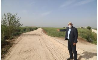 Büyükşehir Haliliye kırsalında çalışmalarını sürdürüyor