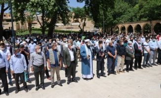 Şanlıurfa'da şehitler için gıyabi cenaze namazı