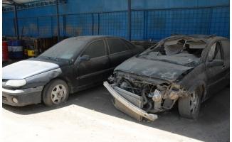 Siverek'te hurda araçlar MKE'ye devredildi
