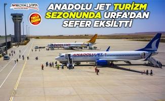 Anadolu Jet Urfa'da Yine Sefer Eksiltti