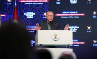 Erdoğan: Birbirinizin aleyhinde konuşmayın