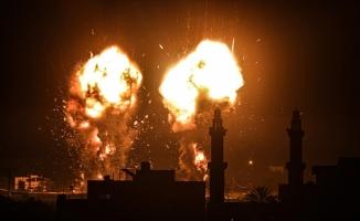 İsrail Gazze'ye hava saldırıları düzenledi