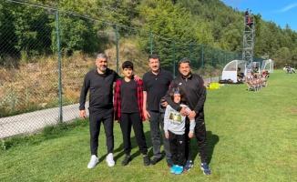 Ekinci Şanlıurfaspor'u kampta ziyaret etti