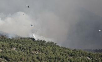 Orman yangınlarına 6 ülkeden hava desteği geldi