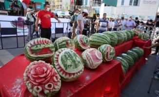 """""""11. Diyarbakır Karpuz Festivali""""nde renkli görüntüler"""