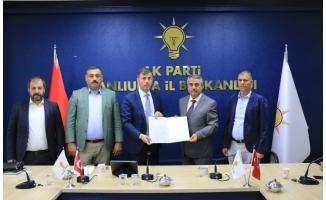 AK Parti Ceylanpınar İlçe Başkanı Mazbatasını Aldı