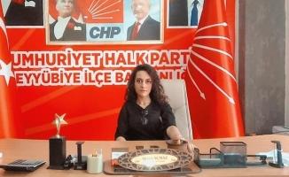 CHP Eyyübiye Kadın Kolları Başkanlığa atama
