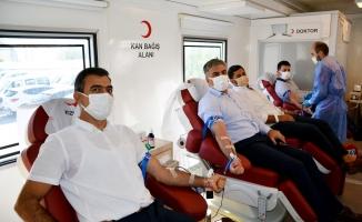 Dicle'den 1 haftada 1.100 ünite kan bağışı