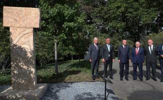 Erdoğan Göbeklitepe dikilitaş replikasını ziyaret etti