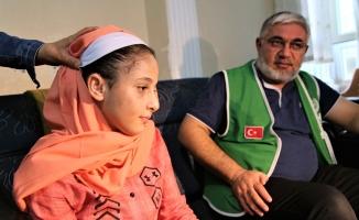 Samiye, hayırseverlerin desteğiyle duymaya başladı