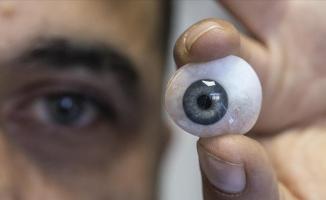 'Göz ustası' 10 yıldır sağlıkla sanatı buluşturuyor
