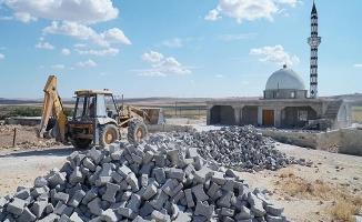 Haliliye'deki 4 kırsal mahallede yol çalışması