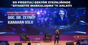 Karahan Ankara Marka Festivali'nde Konuştu