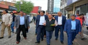 Başkan Atilla Esnafı Ziyaret Etti