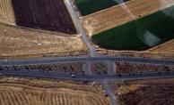 Diyarbakır'da hava destekli trafik denetimi