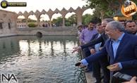 Bakan Fakıbaba ve Bakan Özlü Balıklıgöl#039;de Dua Ettiler