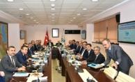Fakıbaba ve Eroğlu Tarımsal Sulama Projelerini Ele Aldı