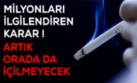 Sigara yasağı genişletiliyor