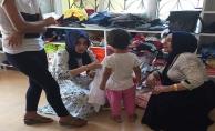 Suruçlu çocuklara bayramlık yardımı