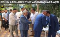 Başkan Atilla, Evinde Vatandaşlarla Bayramlaştı