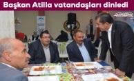 Başkan Atilla: Ceylanpınar için gece gündüz çalışıyoruz