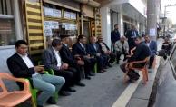 Başkan Atilla, çarşı esnafını ziyaret etti