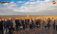 Büyükelçiler Harran ilçesini ziyaret etti